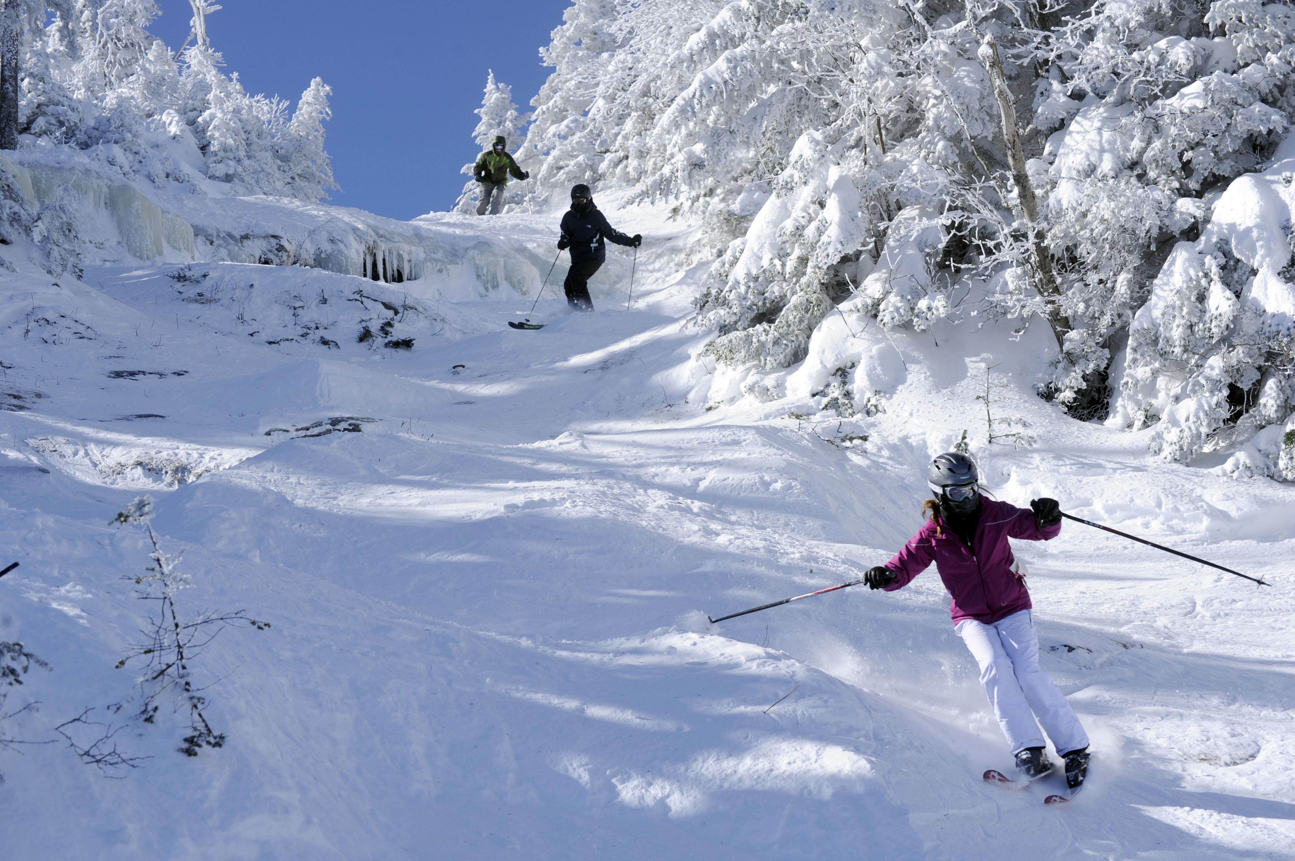 the world's most challenging ski runs